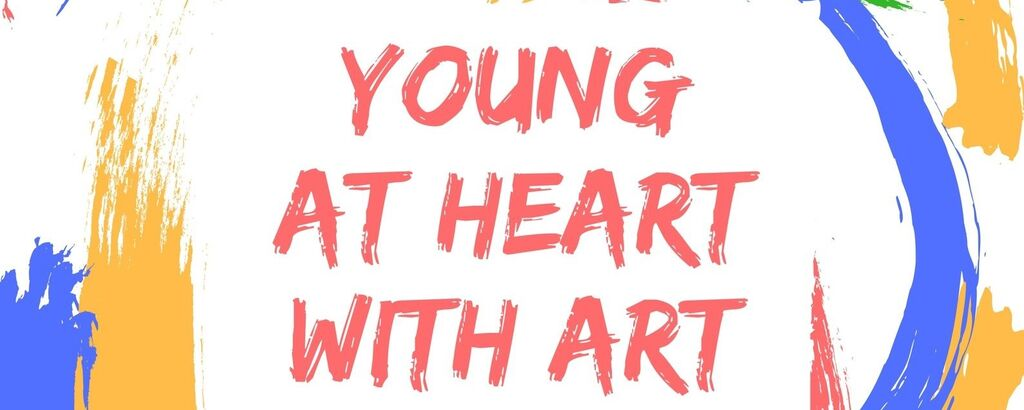 Young At Heartwith Art Web Banner