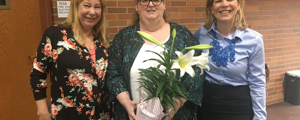 Mary Recognition At All Staff April 2018