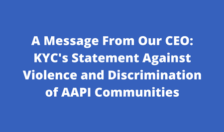 AAPI Statement Banner