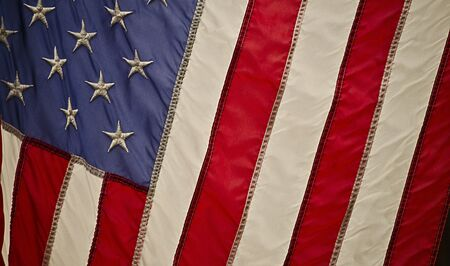 US Flag Close Up